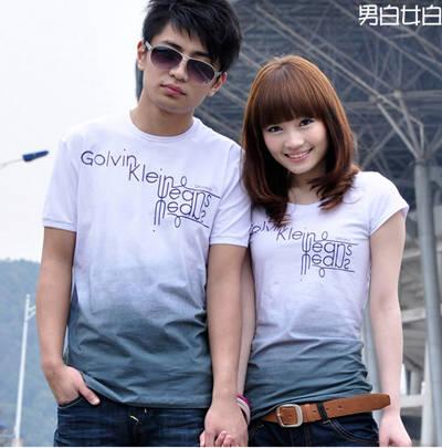 可爱情侣装韩版图片